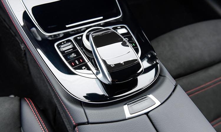 ปุ่มควบคุม AMG E53 Coupe' 4MATIC+