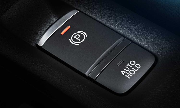 เบรกมือไฟฟ้า Nissan KICKS e-POWER