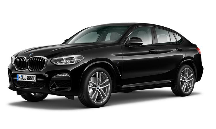 BMW X4 xDrive20d M Sport สีดำ Black Sapphire Metallic