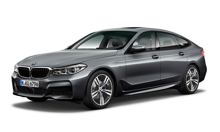 BMW 630i GT M Sport สีเทาอ่อน Bluestone Metallic