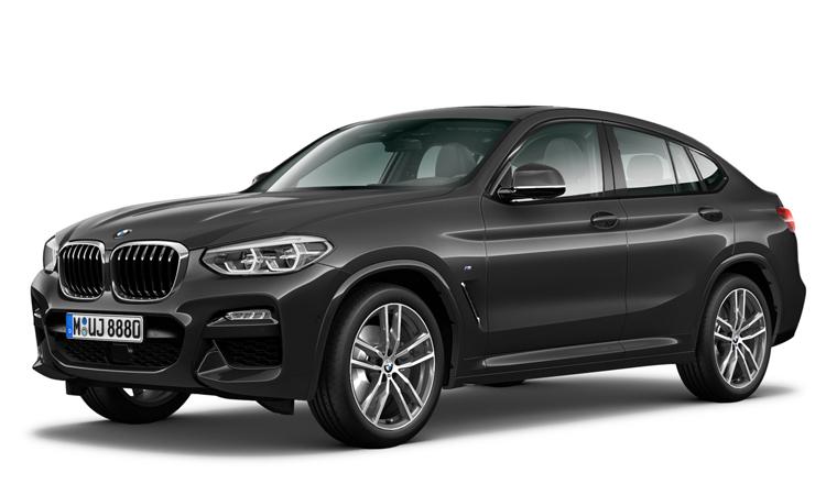 BMW X4 xDrive20d M Sport สีเทา Sophisto Grey Metallic