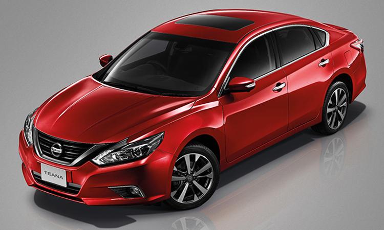 อุปกรณ์มาตรฐาน Nissan Teana Minorchange