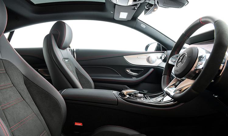 บาะนั่งคู่หน้า AMG E53 Coupe' 4MATIC+