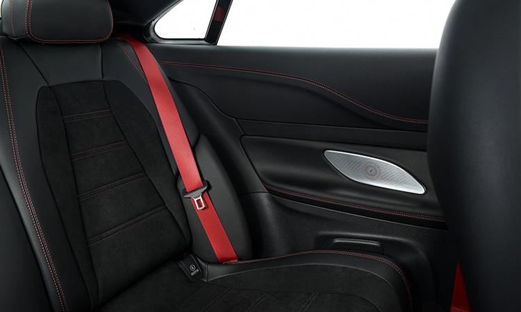 เบาะนั่งด้านหลัง AMG E53 Coupe' 4MATIC+