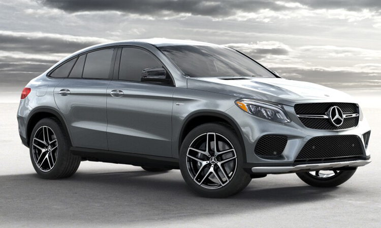 Mercedes-Benz GLC300e 4Matic Coupe AMG Dynamic สีเทา Graphite Grey