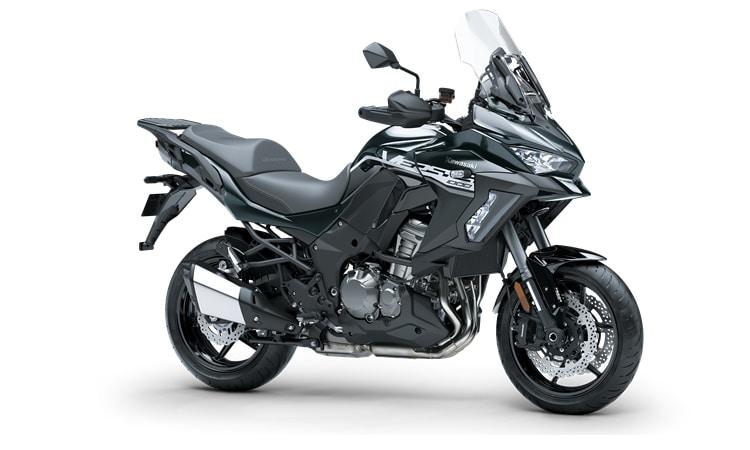 Kawasaki Versys 1000 SE สี เมทัลลิคคาร์บอนเทา / เมทัลลิคสปาร์แบล็ก (SE)