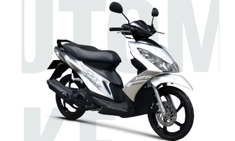 Suzuki Skydrive 2020สีเทา (ZRP)