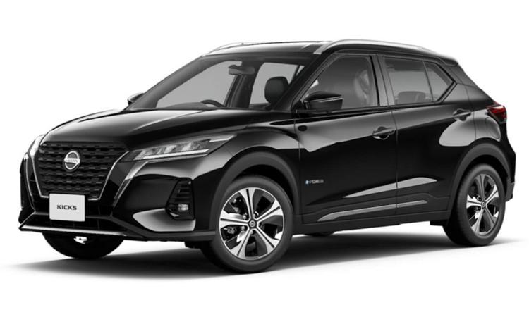 Nissan KICKS e-POWER สีดำ Black Star
