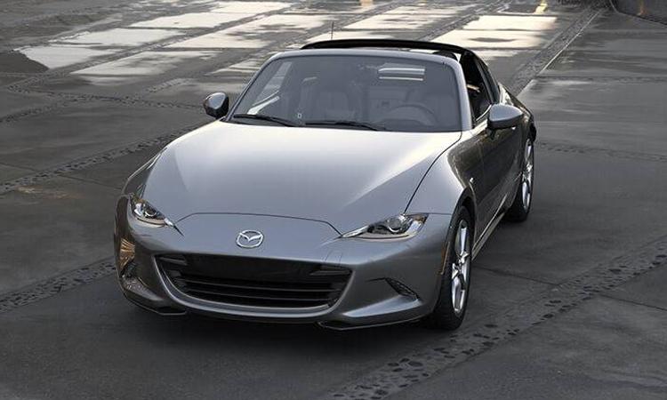 Mazda MX-5 RF 2020 สีเทานม Polymetal Grey