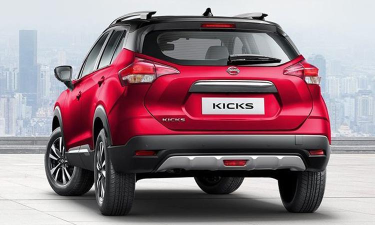 ดีไซน์ด้านหลัง Nissan KICKS e-Power