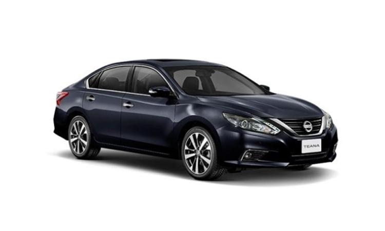 Nissan Teana Minorchange สี DEEP IRIS GRAY