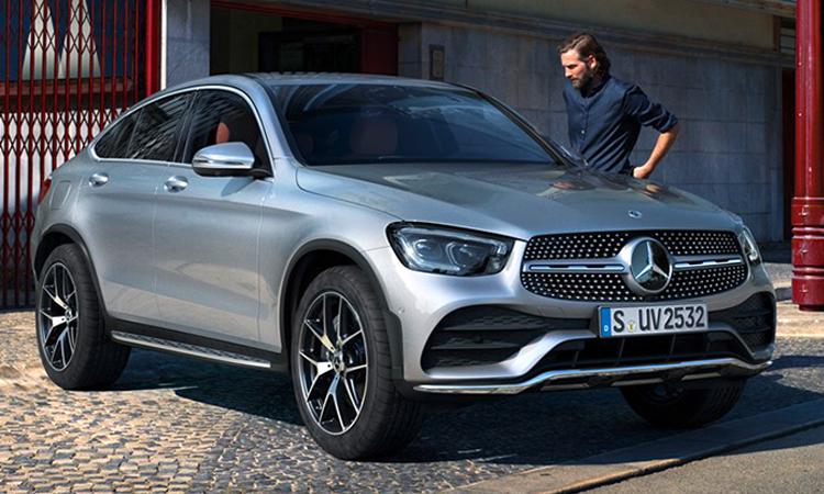 ดีไซน์ Mercedes-Benz GLC 300e Coupe'