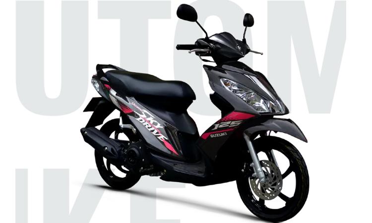Suzuki Skydrive 2020สีดำ (YNR)