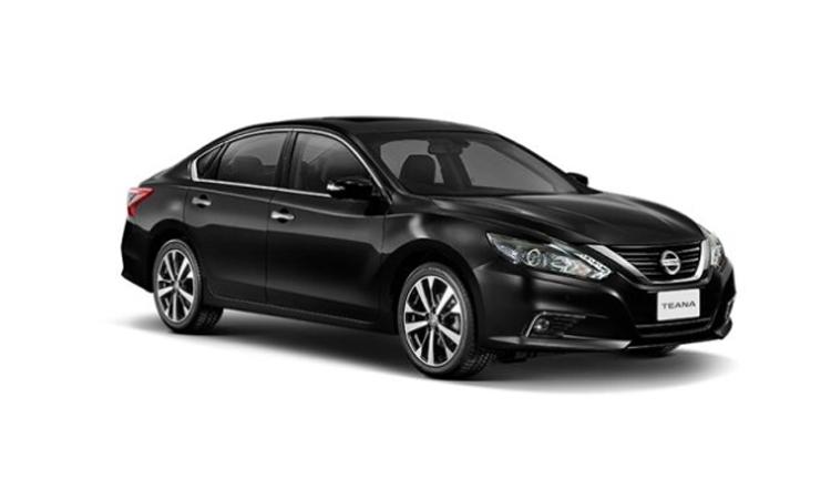 Nissan Teana Minorchange สี BLACK STAR