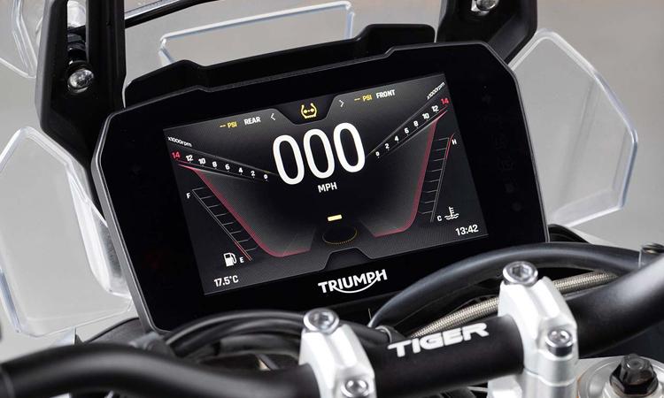 เรือนไมล์ Triumph Tiger 900 Rally Pro 2020