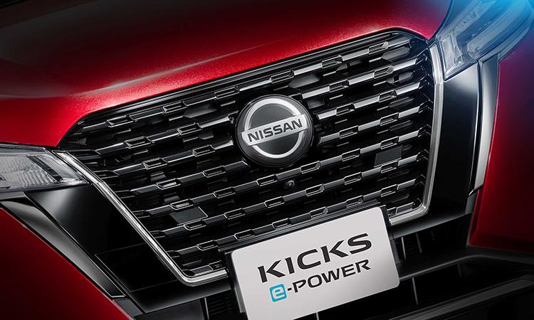 กระจังหน้า Nissan KICKS e-POWER