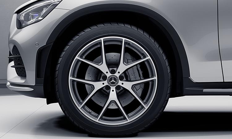 ล้อแม็ก Mercedes-Benz GLC 300e Coupe'