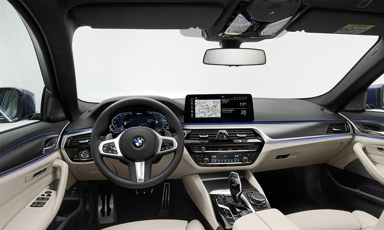 ภายใน BMW 5-Series