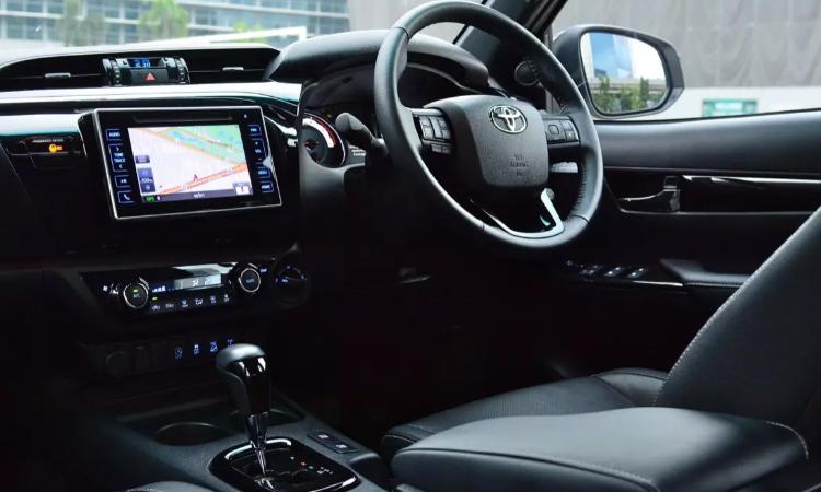 ภายใน Toyota New Hilux Facelift 2020