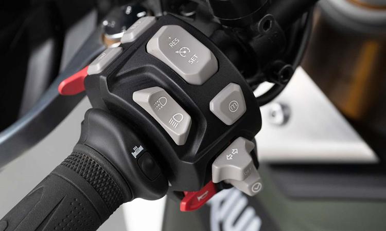 สวิตท์ควบคุม Triumph Tiger 900 Rally Pro 2020