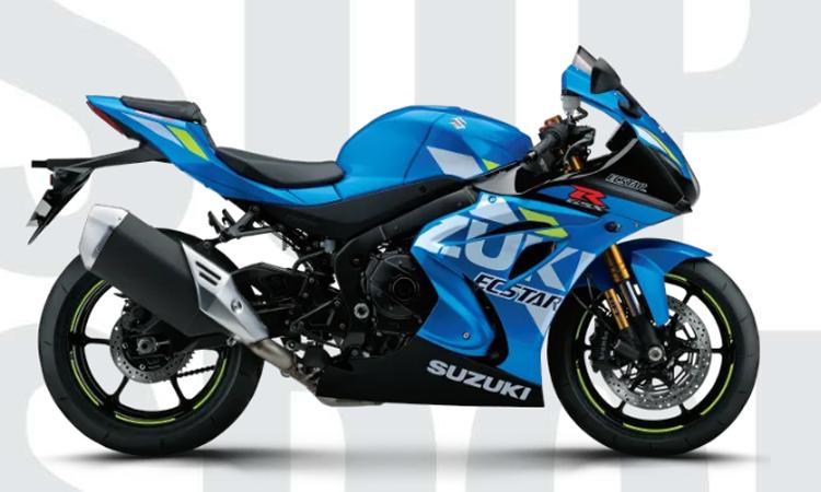 Suzuki GSX-R1000R ABS สีฟ้า