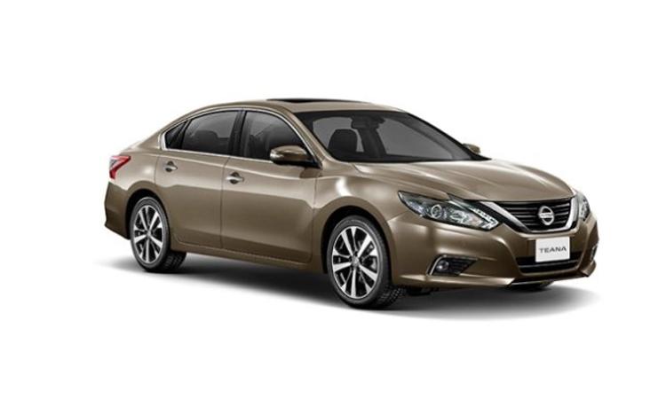 Nissan Teana Minorchange สี GRAYISH BRONZE