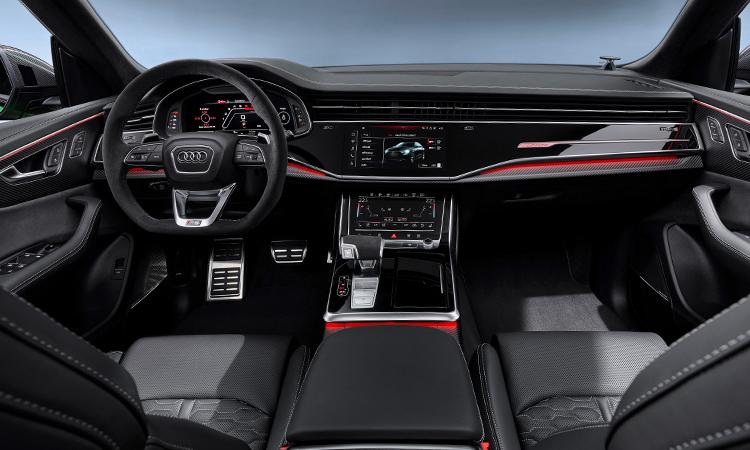ภายใน Audi RS Q8
