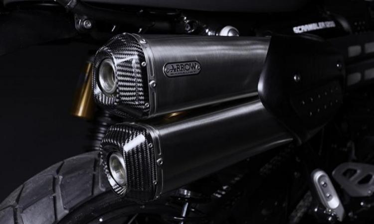 ท่อไอเสีย Triumph Scrambler 1200 Bond Edition