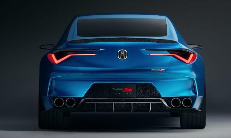 ดีไซน์ด้านหลัง Acura TLX 2020