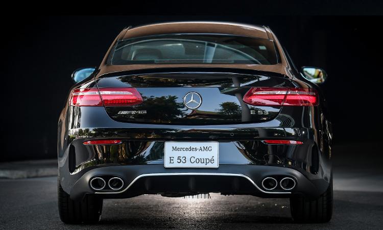ดีไซน์ด้านหลัง AMG E53 Coupe' 4MATIC+
