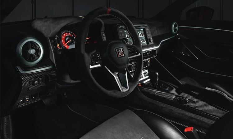 ภายใน Nissan GT-R50 By Italdesign