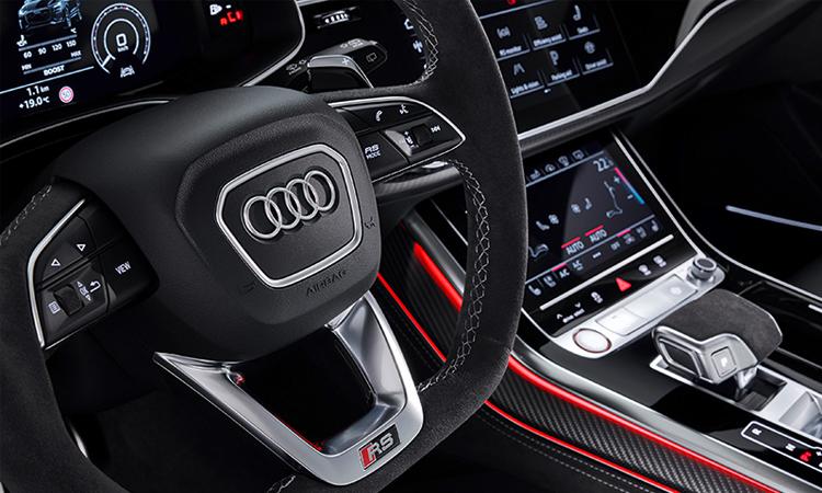 พวงมาลัย Audi RS Q8
