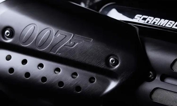 ครอบท่อ Triumph Scrambler 1200 Bond Edition