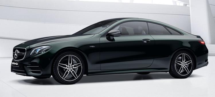 Mercedes-AMG E53 Coupe' 4MATIC+ สี emerald green metallic