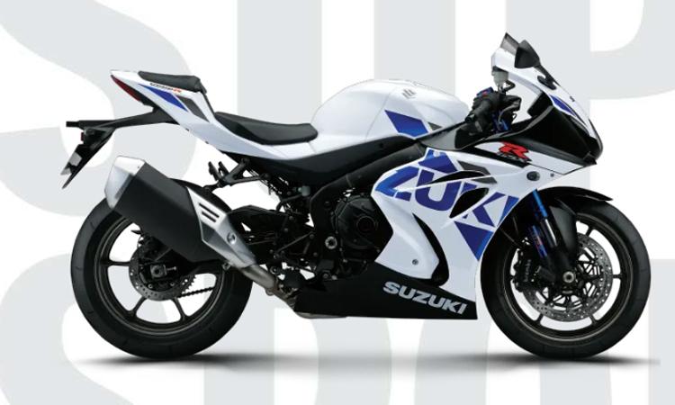 Suzuki GSX-R1000R ABS สีขาว