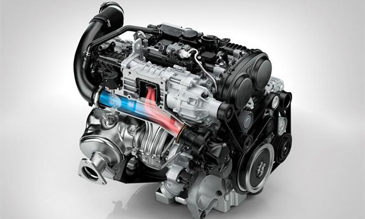 เครื่องยนต์ Volvo S90 T8 Plug-in Hybrid