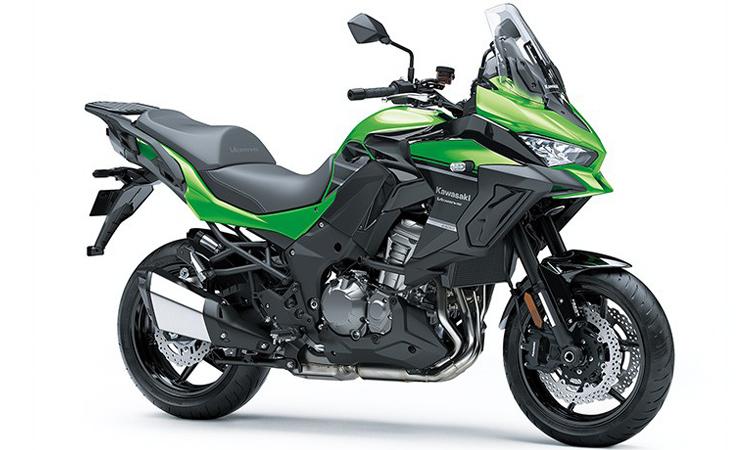 Kawasaki Versys 1000 สีเขียว