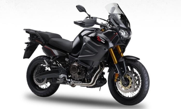 Yamaha Super Tenere สี Tech Black