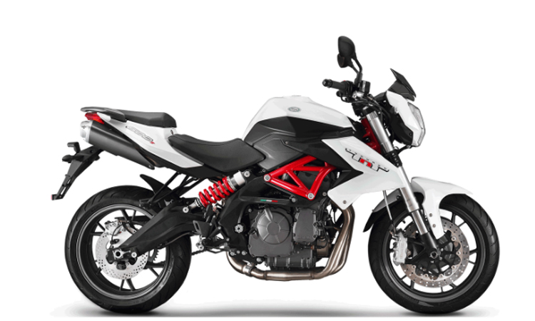Benelli TNT 600 สีขาวดำ