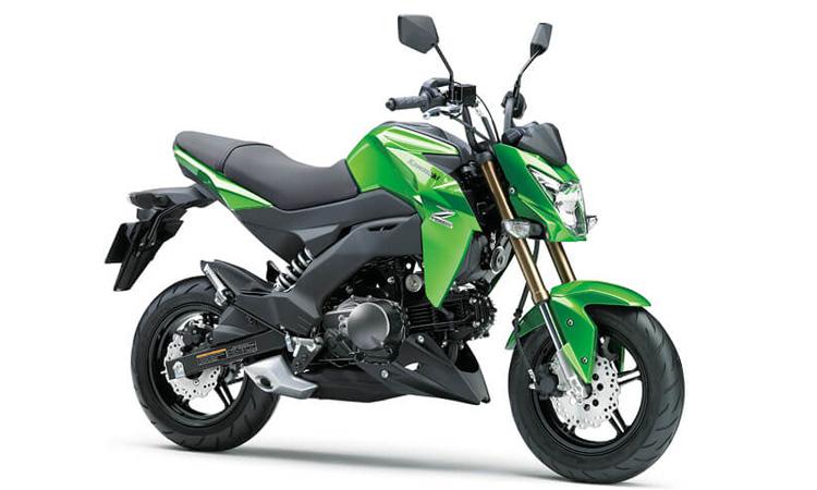 Kawasaki Z125/Z125PRO สีเขียว
