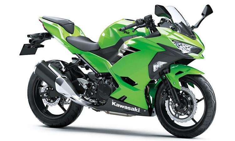 Kawasaki Ninja 250 สี LIME GREEN