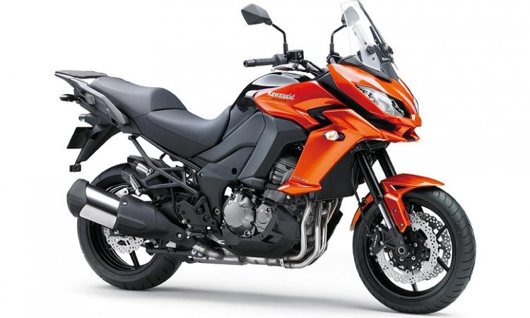 Kawasaki Versys 1000 สีส้ม