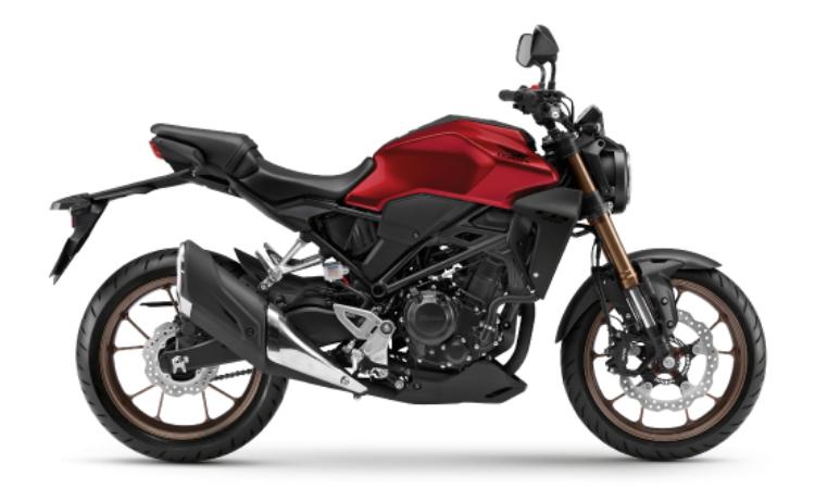 Honda CB300R สี แดง-ดำ