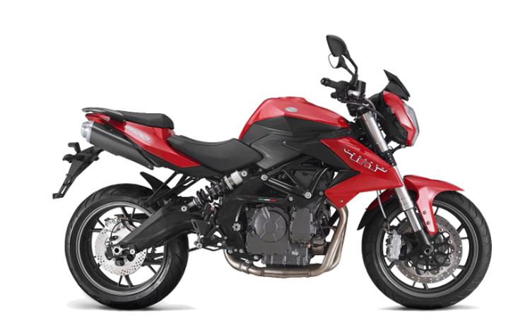 Benelli TNT 600 สีแดงดำ