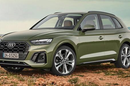 Audi Q5 Minorchange พร้อมสีใหม่ DISTRICT Green