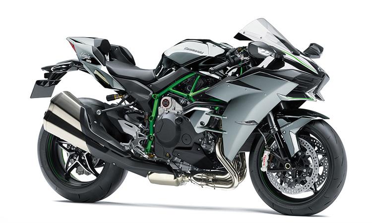 สีตัวถัง Kawasaki Ninja-H2