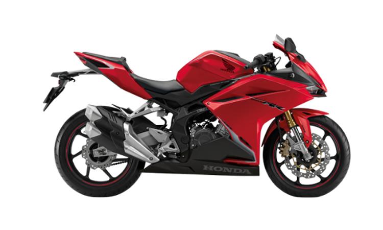Honda CBR250RR ABS สีแดง