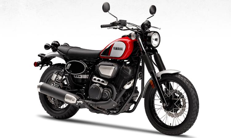 Yamaha SCR950 สีแดง