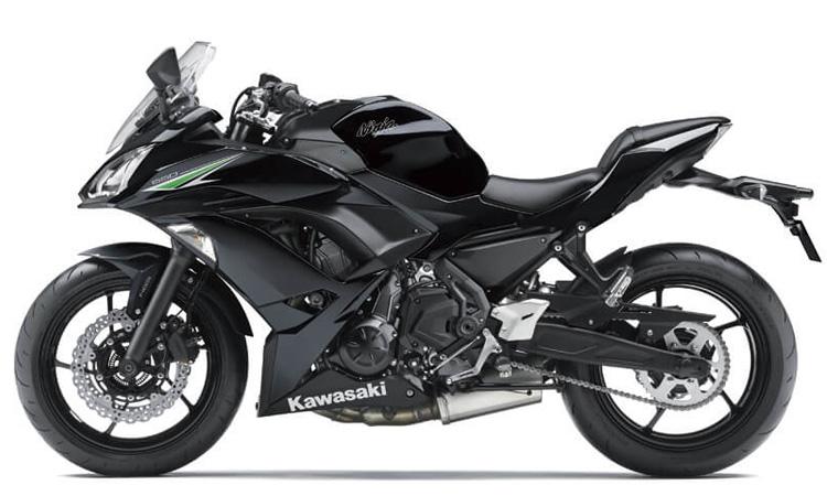 Kawasaki Ninja 650 สี METALLIC SPARK BLACK
