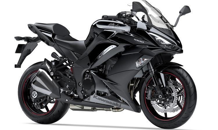 Kawasaki Ninja 1000 สี METALLIC SPARK BLACK / METALLIC GRAPHITE GRAY
